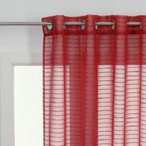 Tenda Righe orizzontali rosso 140 x 280 cm