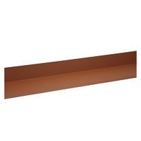 Bordura in acciaio color terracotta 15 x 15 cm, L 200 cm