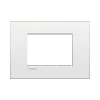 Placca 3 moduli BTicino Livinglight Air bianco