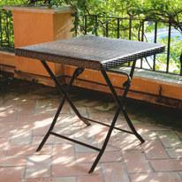 Tavolo pieghevole 60 x 60 cm antracite