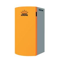 Caldaia a pellet Krone Boiler15 13,1 kW arancio e grigio