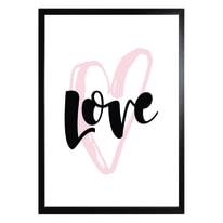 Stampa incorniciata Love 30 x 40 cm