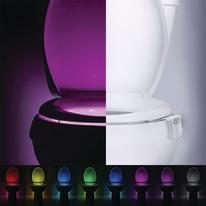Luce notturna bagno WC Toiled bianco 6,7 cm integrato = 1 W IP44