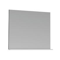 Specchio Opale bianco lucido 80 x 76 cm