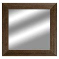 specchio da parete rettangolare 2080 wengè 70 x 70 cm