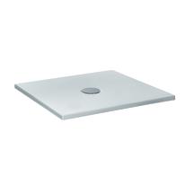 Piatto doccia ceramica Extra slim 140 x 80 cm grigio opaco