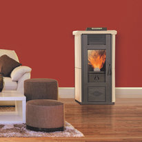 Stufa a Pellet Veronica 10,3 kW bordeaux