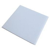 Lastra polionda bianco 1000 x 500  mm, spessore 2,5 mm