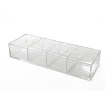 Porta oggetti Claire trasparente
