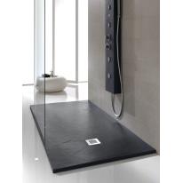 Piatto doccia poliuretano Soft 170 x 70 cm antracite