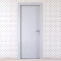 Porta da interno battente Dwarf silk 60 x H 210 cm sx