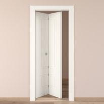 Porta da interno pieghevole Shibuya bianco 70 x H 210 cm sx