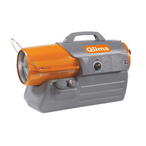 Generatore di aria calda Qlima DFA1650 a gasolio/kerosene 16500 W