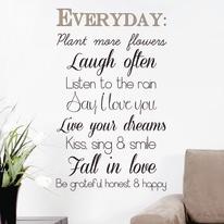 Sticker Words Up L Everyday