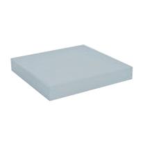 Mensola Spaceo bianco L 23 x P 23, sp 3,8 cm