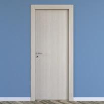Porta da interno battente One ash wood frassino 60 x H 210 cm reversibile
