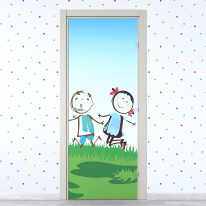 Porta da interno battente Junior 60 x H 210 cm sx