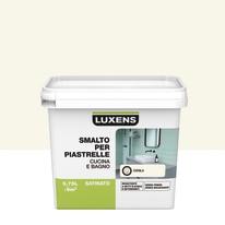 Smalto Per piastrelle Luxens Bianco Cool 3 satinato 0,75 L
