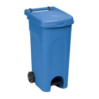 Bidone Urban Eco System blu satinato 80 L
