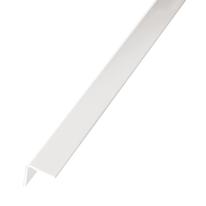 Profilo angolare a L in PVC bianco, L 19,5 x H 19,5 mm x P 2,6 m