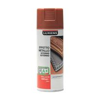 Smalto spray Effetto Metallo Luxens rame metallizzato 400 ml