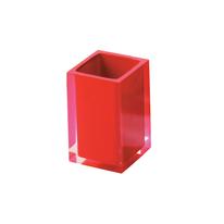 Porta spazzolini Rainbow rosso