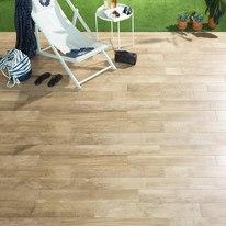 Rivestimento decorativo salom beige prezzi e offerte for Pavimento legno esterno leroy merlin