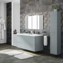 Mobile bagno Elea azzurro L 122 cm