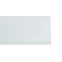 Battiscopa Multifunzione bianco 26 x 55 x 2500 mm