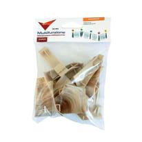 Kit accessori per battiscopa pvc 10 pz rovere