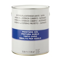 Smalto per pavimenti grigio 2,5 L