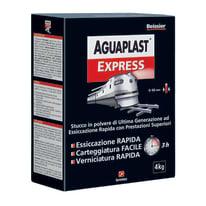 Stucco in polvere Aguaplast Express liscio bianco 4 kg