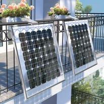 Impianto fotovoltaico da balcone fai da te 2x135 watt nero 270 kW
