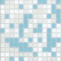 Mosaico Cielo 32,7 x 32,7 cm bianco, azzurro