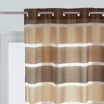 Tenda Shantung marrone 140 x 280 cm