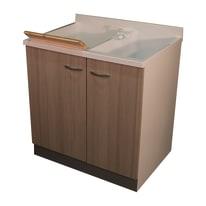 Mobile lavatoio Plus BIANCO / LARICE L 80 x P  60 x H 85 cm