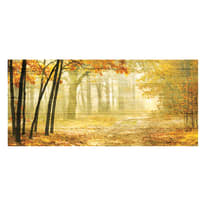 Quadro in legno Deep autumn 50x110