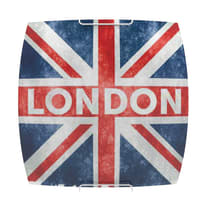Plafoniera London rosso Ø 30 cm