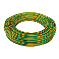 Cavo CPR unipolare FS17 450/750V Baldassari Cavi 1,5 mm giallo/verde, matassa 100 m