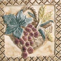 Piastrella con decoro Perù Cuzco/Lima beige 10 x 10 cm