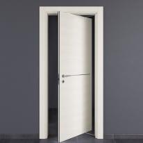 Porta da interno rototraslante Hollow bianco matrix 80 x H 210 cm dx