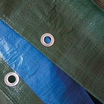 Telo protettivo occhiellato 10 x 6 m 140 g/m²