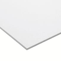 Lastra PVC espanso bianco 1000 x 1000  mm, spessore 3 mm