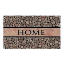 Zerbino Home pebbles multicolore 45 x 75 cm