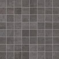 Mosaico Beton 30 x 30 cm nero