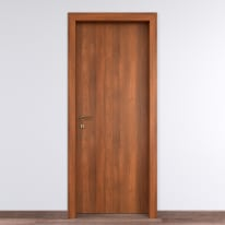Porta per bed & breakfast battente Tuscan Hills noce biondo 60 x H 210 cm dx