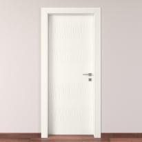 Porta da interno battente Fence bianco 60 x H 210 cm sx