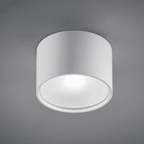 Plafoniera Cube Round d15.7 bianco L 15,7 x H 8,5 cm