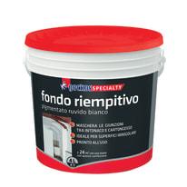 Fondo Geckos Riempitivo pigmentato ruvido bianco 4 L