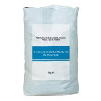 Stucco in polvere Axton Riempitivo liscio bianco 1 kg